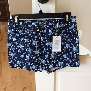 High Rise shorts womens 1 new super stretch denim